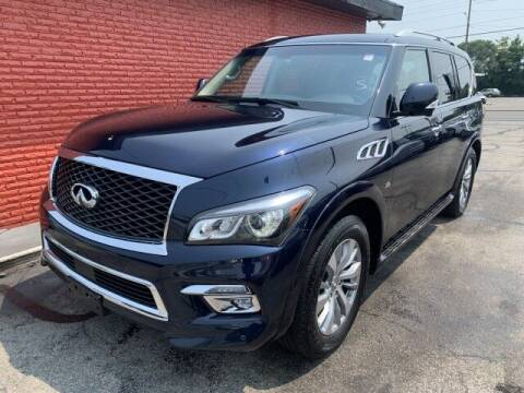 2017 Infiniti QX80 for sale at Cars R Us in Indianapolis IN