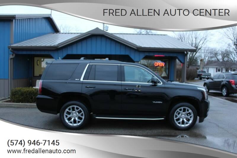 2016 GMC Yukon for sale at Fred Allen Auto Center in Winamac IN