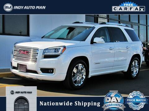 2016 GMC Acadia for sale at INDY AUTO MAN in Indianapolis IN