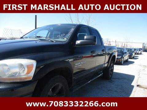 2006 Dodge Ram Pickup 1500 for sale at First Marshall Auto Auction in Harvey IL