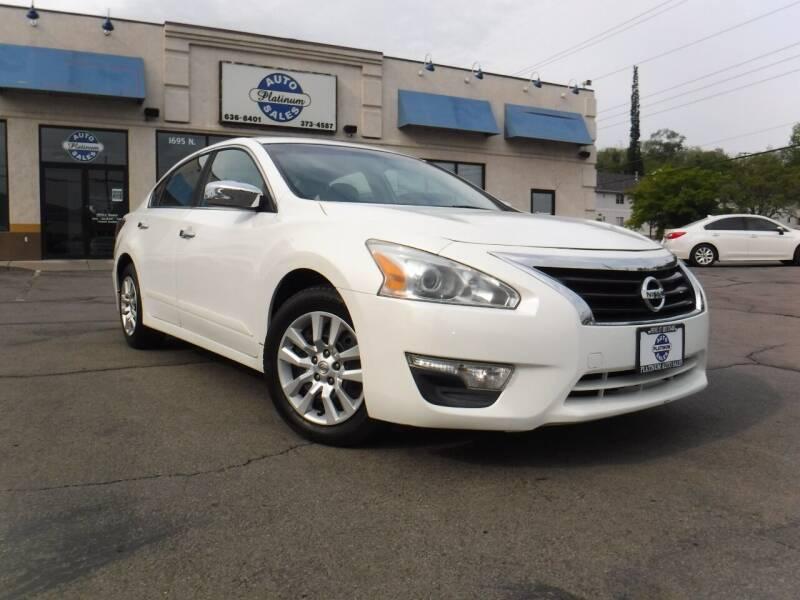 2015 Nissan Altima for sale at Platinum Auto Sales in Provo UT
