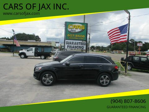 2016 Mercedes-Benz GLC for sale at CARS OF JAX INC. in Jacksonville FL