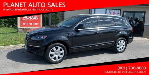 2008 Audi Q7 for sale at PLANET AUTO SALES in Lindon UT