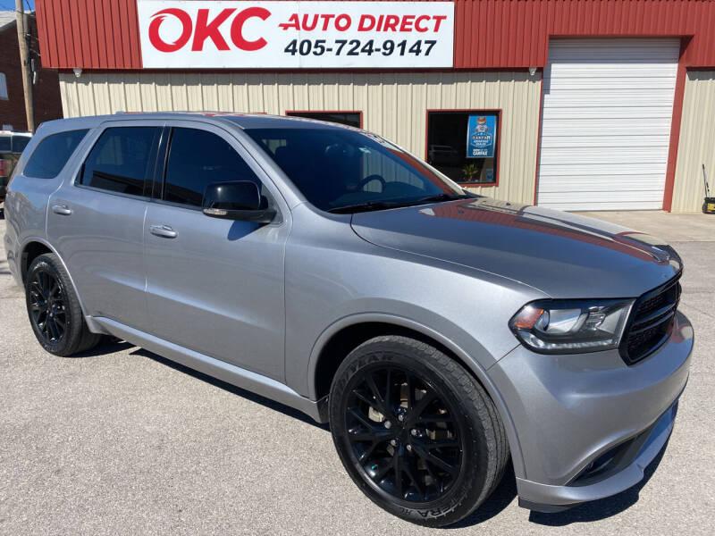 2015 Dodge Durango for sale at OKC Auto Direct in Oklahoma City OK