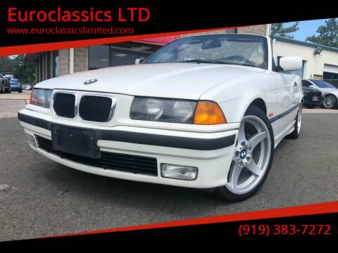 1997 BMW 3 Series for sale at Euroclassics LTD in Durham NC