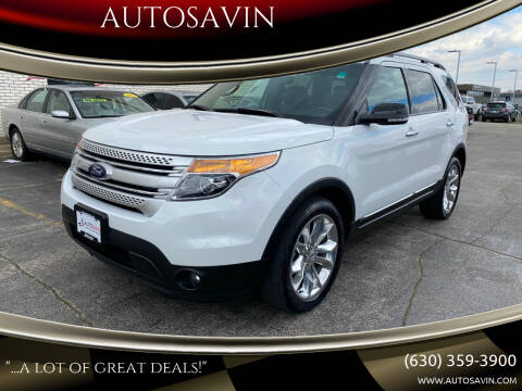 2013 Ford Explorer for sale at AUTOSAVIN in Elmhurst IL