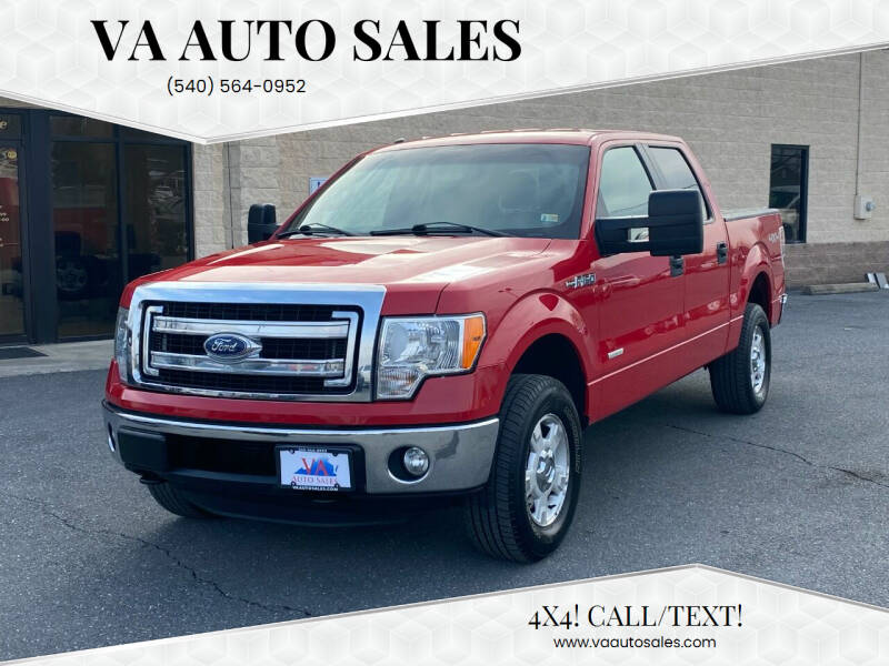 2013 Ford F-150 for sale at Va Auto Sales in Harrisonburg VA