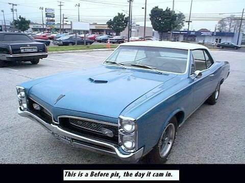 1967 Pontiac GTO for sale at Black Tie Classics in Stratford NJ