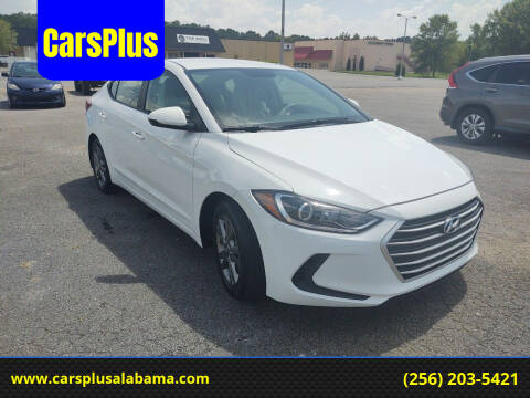 2018 Hyundai Elantra for sale at CarsPlus in Scottsboro AL