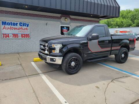 2016 Ford F-150 for sale at Motor City Automotive of Michigan in Flat Rock MI