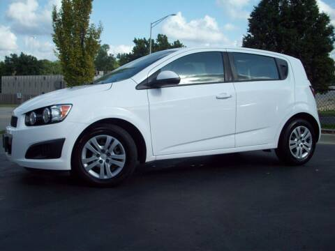 2016 Chevrolet Sonic for sale at Whitney Motor CO in Merriam KS
