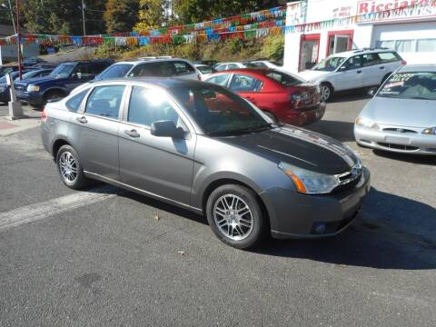 2011 Ford Focus for sale at Ricciardi Auto Sales in Waterbury CT