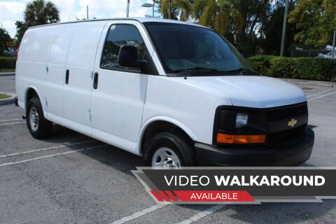 2014 Chevrolet Express Cargo for sale at Truck and Van Outlet in Miami FL