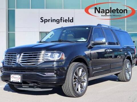 2016 Lincoln Navigator L for sale at Napleton Autowerks in Springfield MO