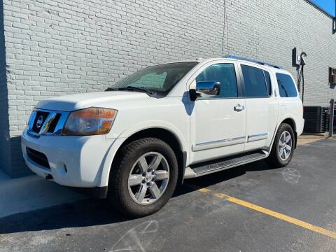 2011 Nissan Armada for sale at Abrams Automotive Inc in Cincinnati OH