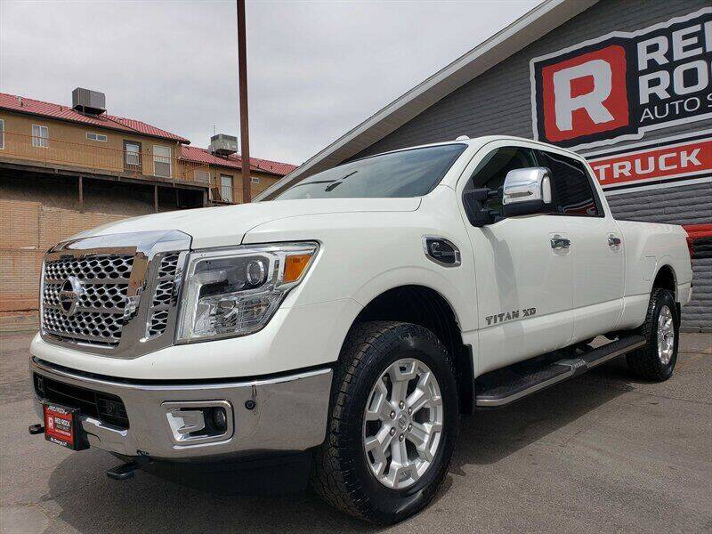 2016 Nissan Titan XD for sale at Red Rock Auto Sales in Saint George UT