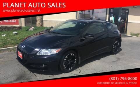 2014 Honda CR-Z for sale at PLANET AUTO SALES in Lindon UT