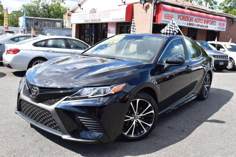 2020 Toyota Camry for sale at Foreign Auto Imports in Irvington NJ