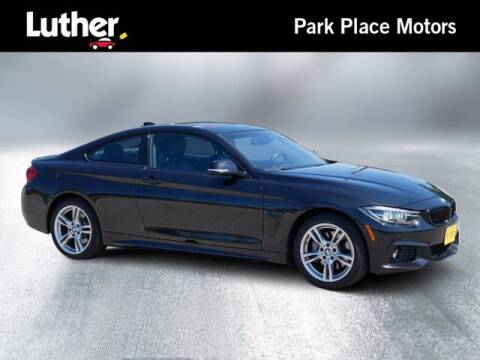 2018 BMW 4 Series for sale at Park Place Motor Cars in Rochester MN