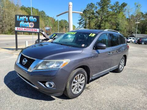 2013 Nissan Pathfinder for sale at Let's Go Auto in Florence SC