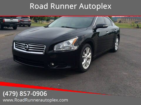 2013 Nissan Maxima for sale at Road Runner Autoplex in Russellville AR