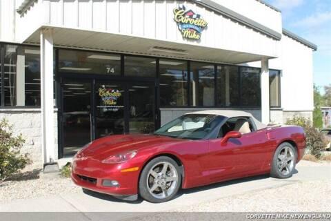 2006 Chevrolet Corvette for sale at Corvette Mike New England in Carver MA