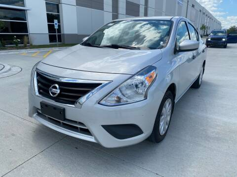 2018 Nissan Versa for sale at Quality Auto Sales And Service Inc in Westchester IL