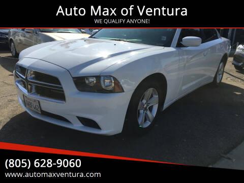 2012 Dodge Charger for sale at Auto Max of Ventura in Ventura CA