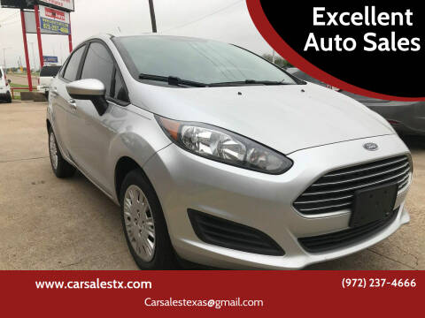 2017 Ford Fiesta for sale at Excellent Auto Sales in Grand Prairie TX