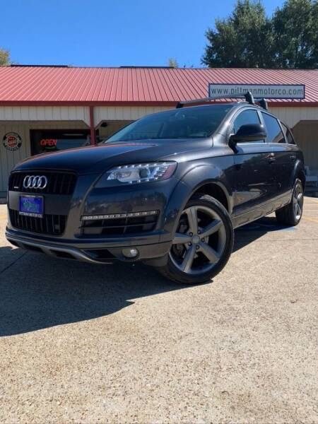 2015 Audi Q7 for sale at PITTMAN MOTOR CO in Lindale TX