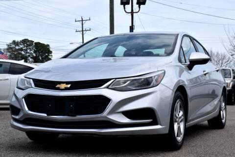 2017 Chevrolet Cruze for sale at Wheel Deal Auto Sales LLC in Norfolk VA