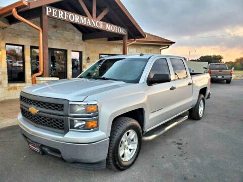 2014 Chevrolet Silverado 1500 for sale at Performance Motors Killeen Second Chance in Killeen TX