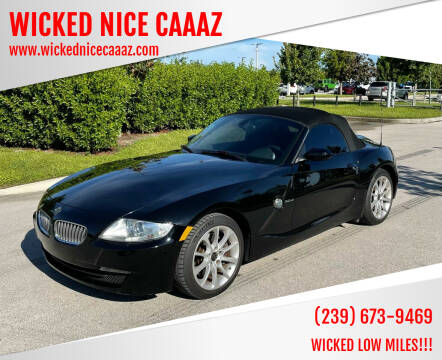 2008 BMW Z4 for sale at WICKED NICE CAAAZ in Cape Coral FL