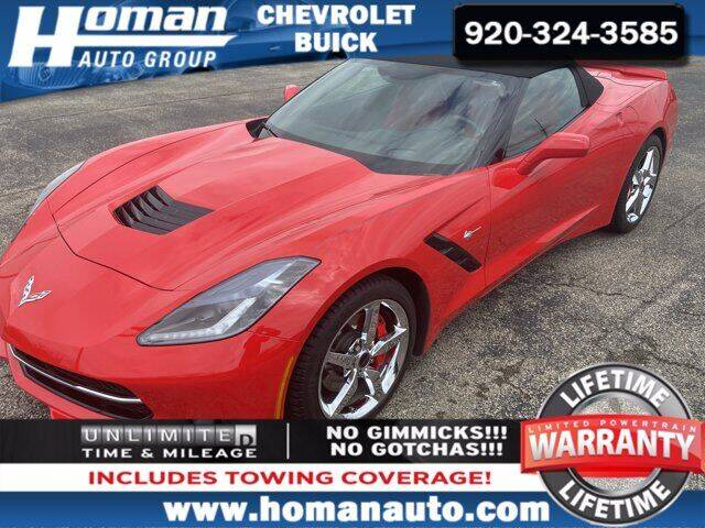 2014 Chevrolet Corvette for sale in Waupun, WI