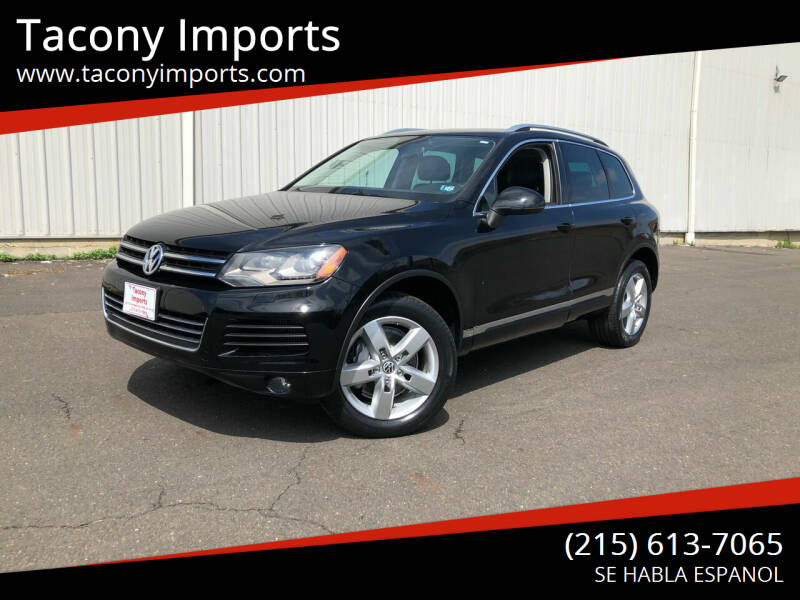 2011 Volkswagen Touareg for sale at Tacony Imports in Philadelphia PA