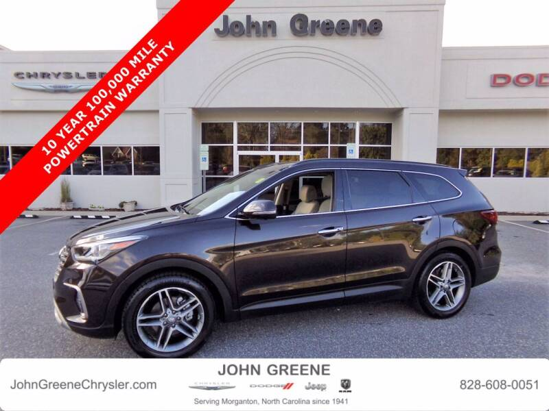 2018 Hyundai Santa Fe for sale at John Greene Chrysler Dodge Jeep Ram in Morganton NC