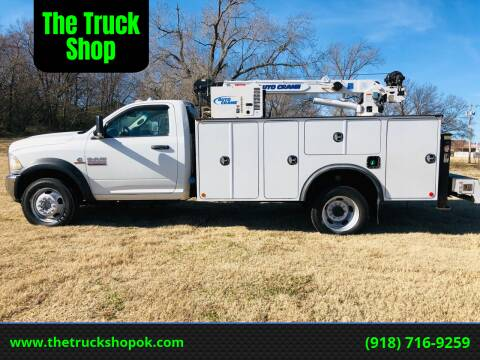 2014 RAM Ram Chassis 5500 for sale at The Truck Shop in Okemah OK