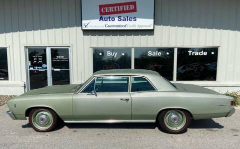 1967 Chevrolet Chevelle for sale at Certified Auto Sales in Des Moines IA
