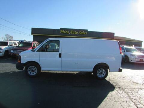 2012 GMC Savana Cargo for sale at MIRA AUTO SALES in Cincinnati OH
