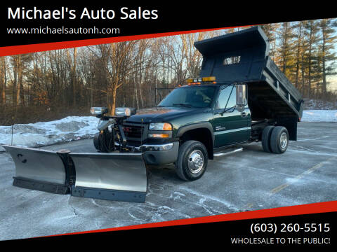 2006 GMC Sierra 3500 for sale at Michael's Auto Sales in Derry NH