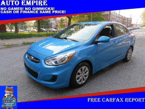 2017 Hyundai Accent for sale at Auto Empire in Brooklyn NY