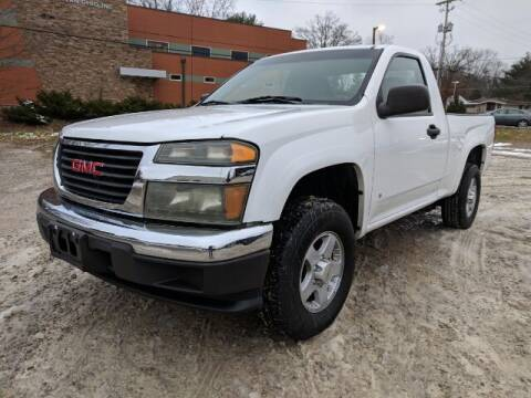 2007 GMC Canyon for sale at DILLON LAKE MOTORS LLC in Zanesville OH