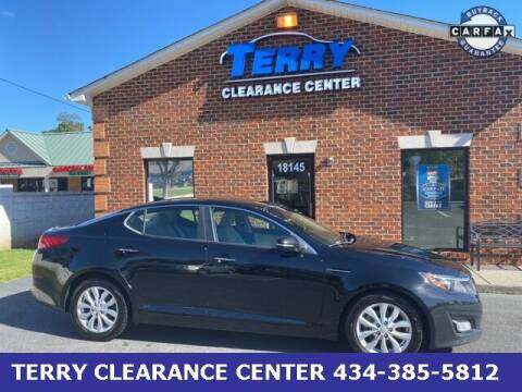 2014 Kia Optima for sale at Terry Clearance Center in Lynchburg VA