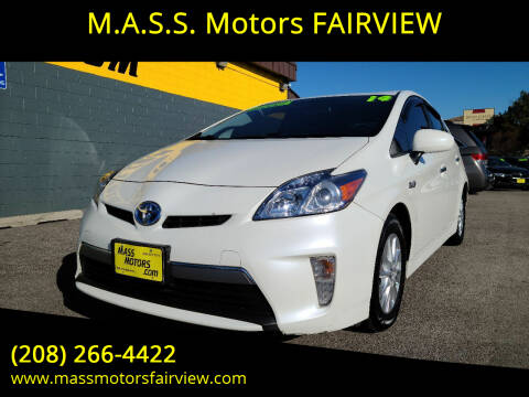 2014 Toyota Prius Plug-in Hybrid for sale at M.A.S.S. Motors - Fairview in Boise ID