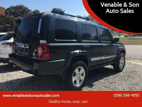 2007 Jeep Commander for sale at Venable & Son Auto Sales in Walnut Cove NC