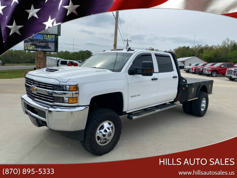 2018 Chevrolet Silverado 3500HD for sale at Hills Auto Sales in Salem AR