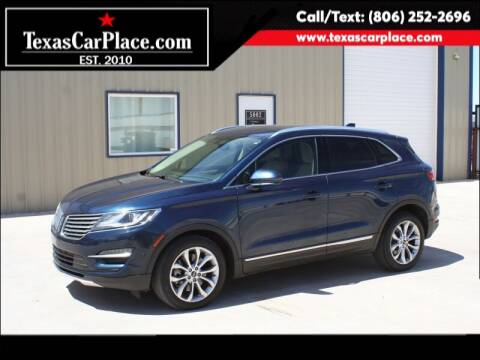 2016 Lincoln MKC for sale at TEXAS CAR PLACE in Lubbock TX