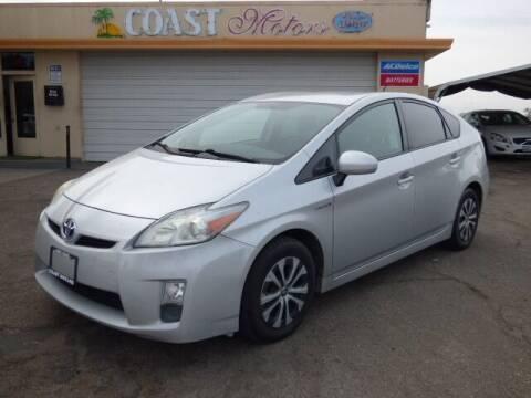 2011 Toyota Prius for sale at Coast Motors in Arroyo Grande CA