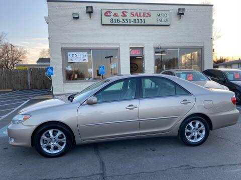 2005 Toyota Camry for sale at C & S SALES in Belton MO