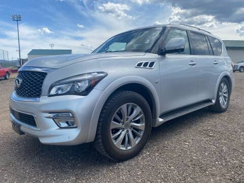 2016 Infiniti QX80 for sale at FAST LANE AUTOS in Spearfish SD